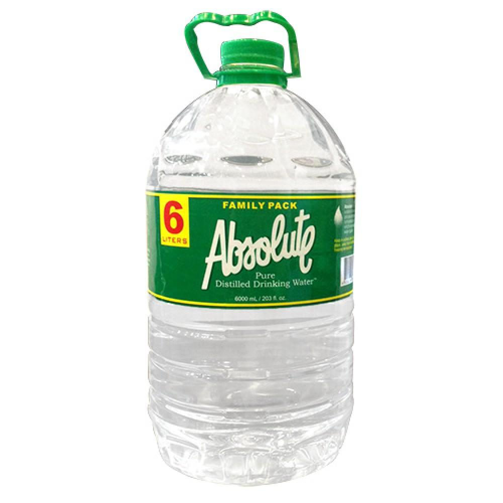 Absolute Pure Distilled Drinking Water 6L – iMart Grocer